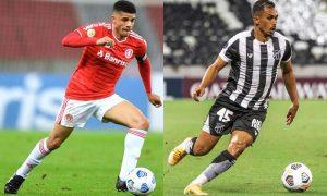 Taison (Internacional) e Lima (Ceará): equipes jogam neste fim de semana pelo Brasileirão 2021