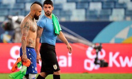 Vidal (Chile) e Luis Suárez (Uruguai): ex-companheiros de Barcelona disputam a Copa América 2021