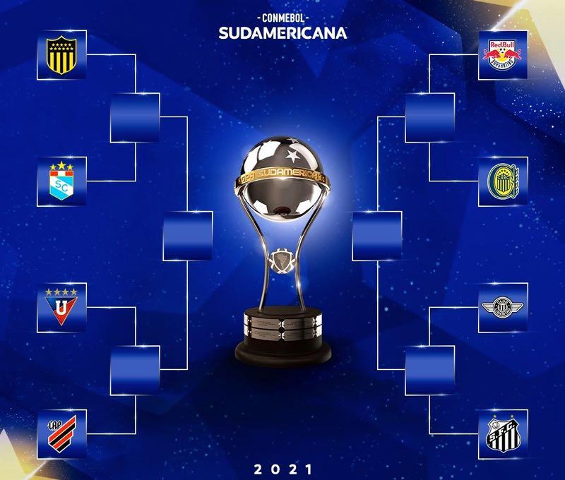 A chave das quartas de final da Copa Sul-Americana 2021