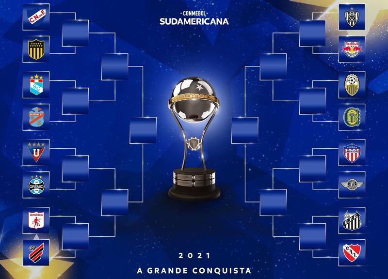 A chave do mata-mata da Copa Sul-Americana 2021