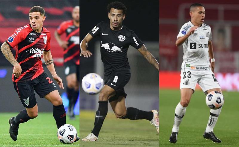 Brasileiros nas quartas da Sul-Americana 2021