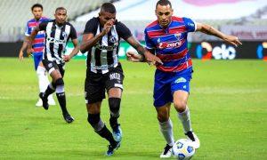 Ceará x Fortaleza na Copa do Brasil 2021; o Leão levou a melhor sobre o Vozão