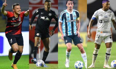 Athletico-PR, Bragantino, Grêmio e Santos, os clubes brasileiros na Copa Sul-Americana 2021
