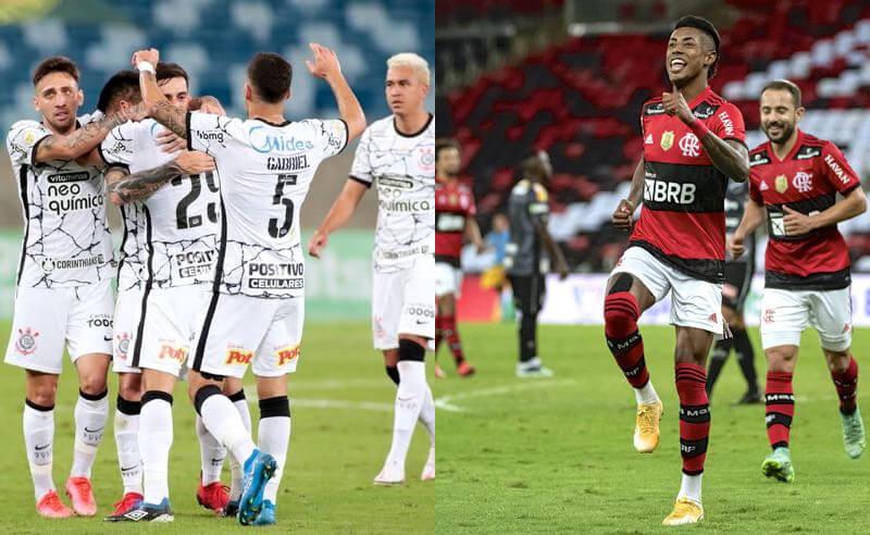 Corinthians e Flamengo vão duelar no Brasileirão 2021 neste fim de semana