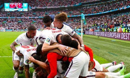 Inglaterra eliminou a Alemanha nas oitavas de final da Eurocopa 2021