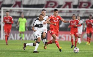 O Internacional derrotou o Olimpia no Paraguai na fase de grupos da Libertadores 2021