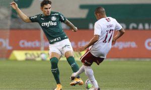 Palmeiras 2 x 0 Fluminense, no Brasileirão 2020