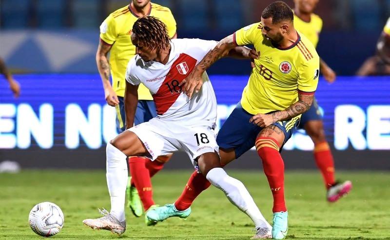 Peru 2 x 1 Colômbia na fase de grupos da Copa América 2021