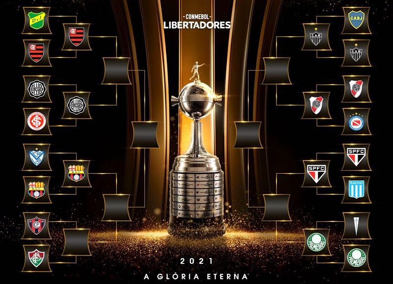 A chave das quartas de final da Libertadores 2021