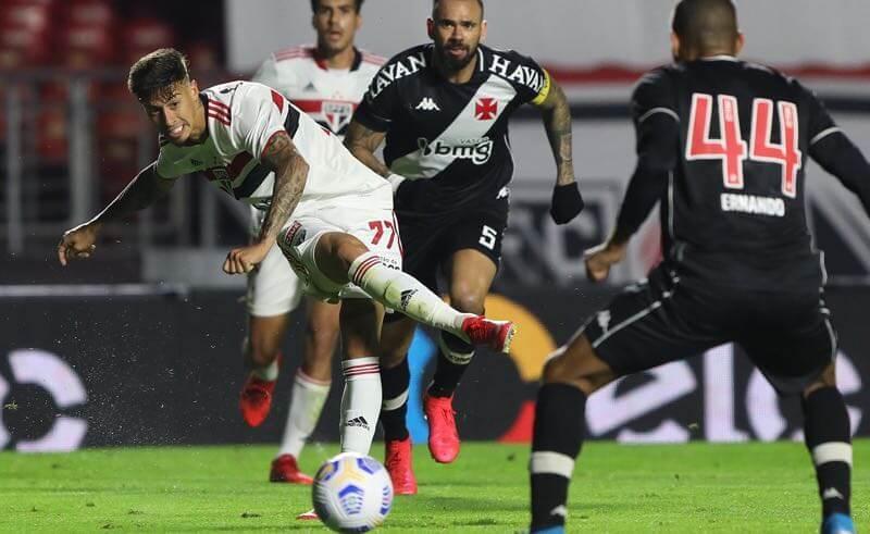São Paulo x Vasco, jogo de ida das oitavas de final da Copa do Brasil 2021