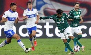 Universidad Católica x Palmeiras na Libertadores 2021