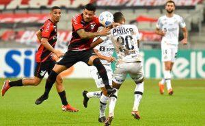 Athletico-PR x Santos, jogo de ida das quartas de final da Copa do Brasil 2021