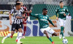 Atlético-MG x Palmeiras no primeiro turno do Brasileirão 2021; agora as equipes medem forças na Libertadores