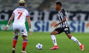 Rossi, do Bahia, e Tchê Tchê, do Atlético-MG, nas oitavas de final da Copa do Brasil 2021