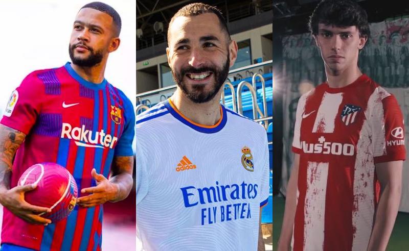 Destaques de Barcelona, Real Madrid e Atlético, favoritos em La Liga