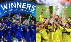 Chelsea na Champions League e Villarreal na Liga Europa da última temporada