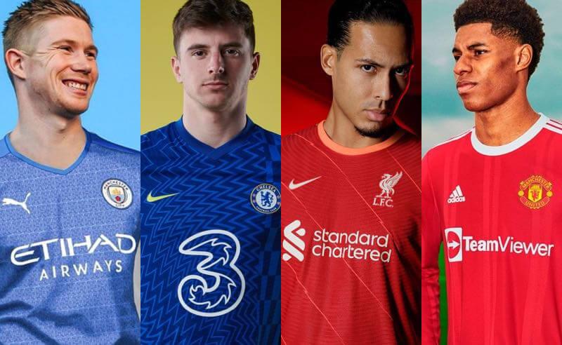 Manchester City, Chelsea, Liverpool e Manchester United são favoritos nas apostas na Premier League