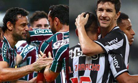Fred e Nacho, destaques de Fluminense e Atlético-MG no Brasileirão 2021