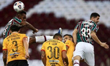 Fluminense x Barcelona de Guyaquil pela Copa Libertadores 2021