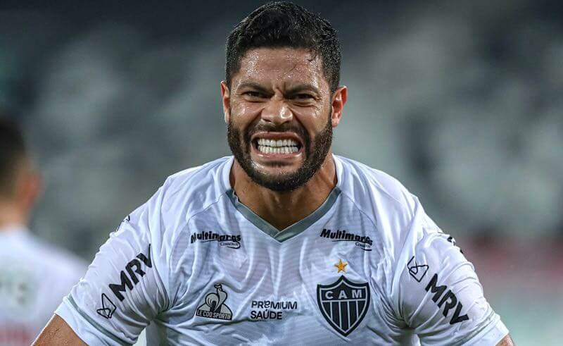 Hulk, destaque do Atlético-MG no primeiro turno do Brasileirão 2021