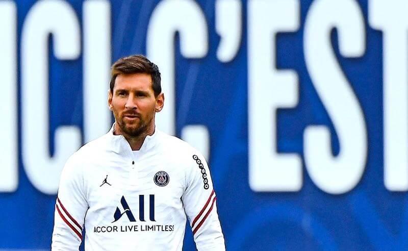 Messi no PSG