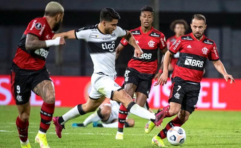 Olimpia x Flamengo nas quartas de final da Libertadores 2021
