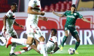 São Paulo 1 x 1 Palmeiras nas quartas da Libertadores 2021