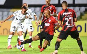 Santos x Athletico-PR no primeiro turno do Brasileirão 2021