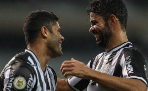 Hulk e Diego Costa em Atlético-MG x Sport no Brasileirão 2021