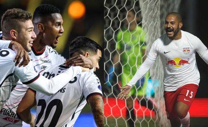 Bragantino e Athletico-PR nos jogos de ida das semifinais da Sul-Americana 27921