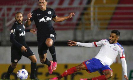 Bragantino e Bahia empataram em 3 a 3 no primeiro turno do Brasileirão 2021