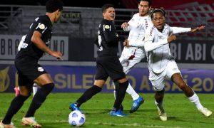 Bragantino x Fluminense no primeiro turno do Brasileirão 2021