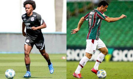 Willian, do Corinthians, e Fred, do Fluminense, destaques da rodada desta terça do Brasileirão 2021