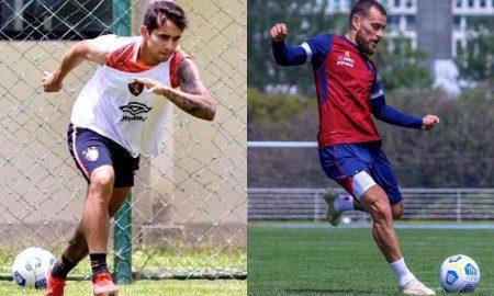 Everton Felipe, do Sport, e Lucas Lima, do Fortaleza, destaques de seus times no Brasileirão 2021