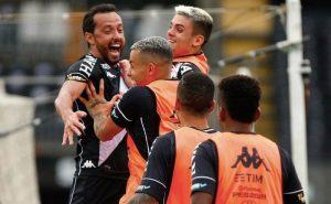 Nenê comemora gol em Vasco 1 x 1 Cruzeiro Na Série B 2021