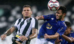 Botafogo x Cruzeiro no primeiro turno da Série B 2021