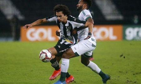 Botafogo x Goiás no primeiro turno da Série B 2021