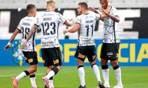 Corinthians em ação no Brasileirão 2021 da Série A