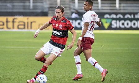 Flamengo x Fluminense no primeiro turno do Brasileirão 2021