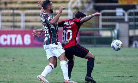Fluminense x Athletico-PR no primeiro turno do Brasileirão 2021