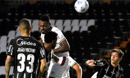 Fluminense x Corinthians no primeiro turno do Brasileirão 2021