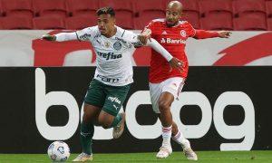 Internacional x Palmeiras no primeiro turno do Brasileirão 2021