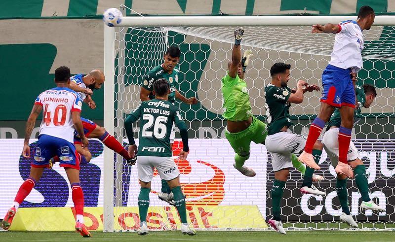 Palmeiras x Bahia no primeiro turno do Brasileirão 2021