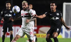 São Paulo x Bragantino no primeiro turno do Brasileirão 2021